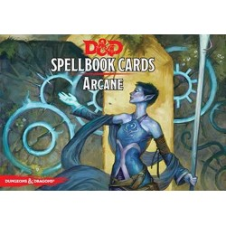 Dungeons & Dragons Arcane Spell Deck
