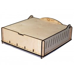 Board Game Storage Boxes Trading Card Storage Box - Wood