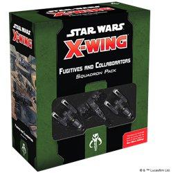 Star Wars: X-Wing 2.Ed. - Gesuchte + Kollaborateure - Erweiterungspack DE