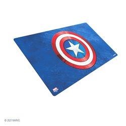 Marvel Champions Game Mat - Captain America •