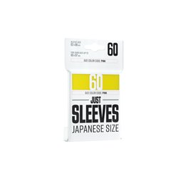 Just Sleeves - Japanese Size Yellow • (Einzelpack)