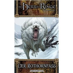 Herr der Ringe: LCG - Der Rothornpass • Abenteuer-Pack (Zwergenbinge-1) DEUTSCH