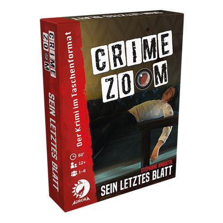 Crime Zoom Fall 1: Sein letztes Blatt • DE