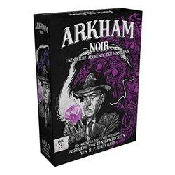 Arkham Noir - Fall 3: Unendliche Abgründe der Finsternis • (6er-Display) DE