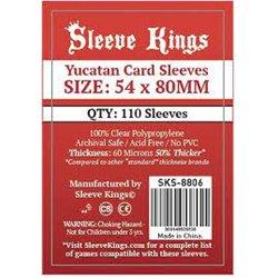 Sleeve Kings Yucatan Card Sleeves (54x80mm) 110 Pack