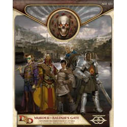 Dungeons & Dragons Forgotten Realms Murder in Baldur's Gate