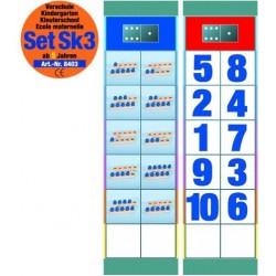 Flocards Set SK3: Zählen und Zahlen