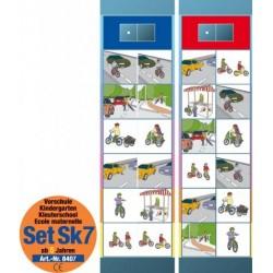 Flocards Set SK7: Verkehrserziehung