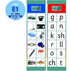 Flocards Set E1: Englisch ab 7 Jahren