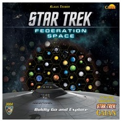 Star Trek Catan Federation Space Map Set, EN