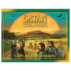 Catan: Cities & Knights 5-6 Player Extension EN