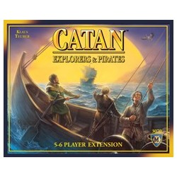 Catan Explorers & Pirates 5-6 Player Extension EN