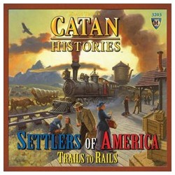 Catan Histories: Settlers of America Trails to Rails EN