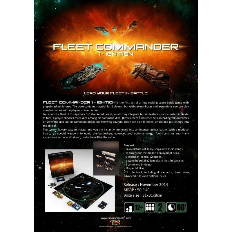 Fleet Commander 1 Ignition Games Toys More E U