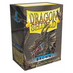 Dragon Shield: Braun (100)