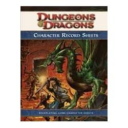 D&D Dungeons & Dragons Character Sheet