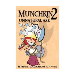 Munchkin2:Unnatural Axe(Color)