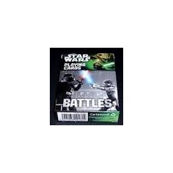 Star Wars Poker Cards Set Weapons Battles