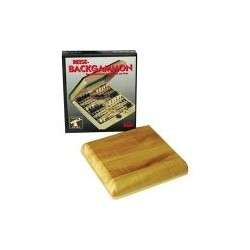 Backgammon Reise Holzklappkassette