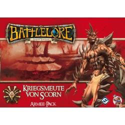 Battlelore 2. Edition Kriegsmeute von Scorn DEUTSCH