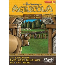 Agricola Even More Buildings 2nd Expansion