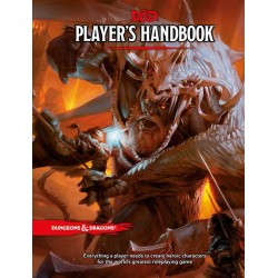 Dungeons & Dragons Players Handbook TRPG (Hardcover)