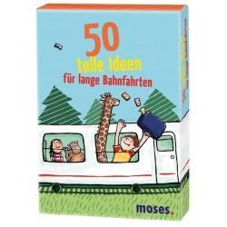 50 tolle Ideen für Zugfahrten