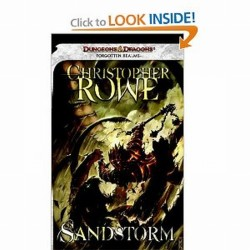 Dungeons and Dragons D&D Forgotten Realms Sandstorm