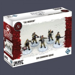 Dust Tactics SSU Command Squad - THE MEDVEDI DT036