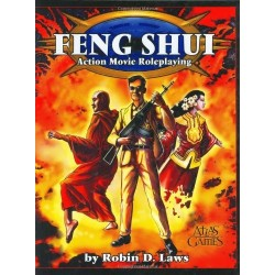 Feng Shui RPG Action movie roleplaying