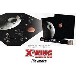 Star Wars X-wing death star assault playmat