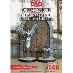 Dungeons and Dragons D&D Temple of Elemental Evil Aerisi Kalinoth & Priest
