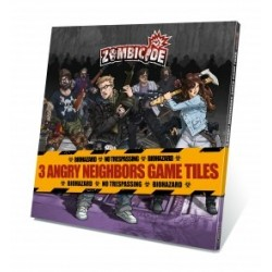 Zombicide Angry Neighbors Spielplanteile