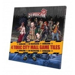 Zombicide Toxic City Mall Spielplanteile