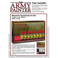 Army Painter NEW Quikshade Ink Set