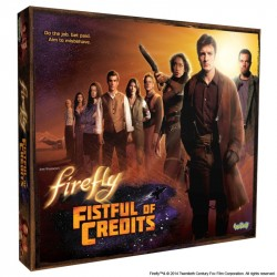 Firefly Fistful of Credits Boardgame
