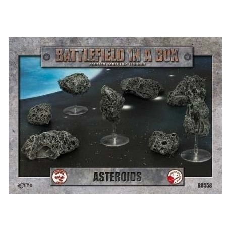 Asteroids Battlefield in a Box