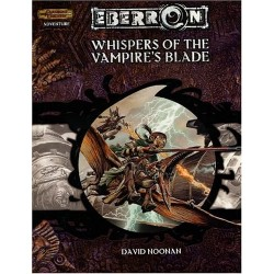 Dungeons and Dragons D&D Eberron Wishes of the Vampires Blade