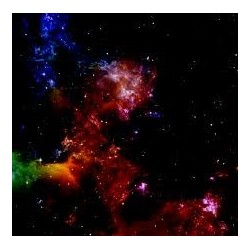 War Game Mat 36x36inch Nebula
