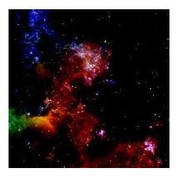 War Game Mat 36x36inch Nebula