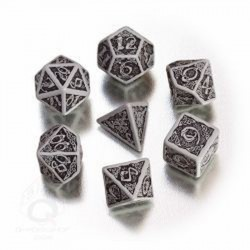 Celtic 3D Dice Gray Black (7)