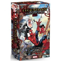 Legendary Spiderman Paint the Town Red Expansion