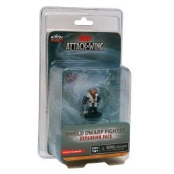 Shield Dwarf Fighter D & D Attack Wing (Wave 6)