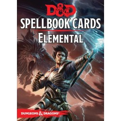 Dungeons & Dragons Elemental Evil Spellbook Cards