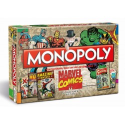 Monopoly Marvel Comic Book