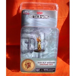 Dungeons and Dragons D&D Attack Wing Wave 1 Sun Elf Wizard