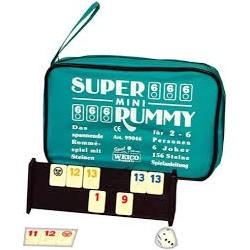 Super mini Rummy 2- 6 Spieler 99046
