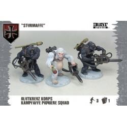 Dust Tactics Axis Blutkreuz Pioniere Squad Sturmaffe