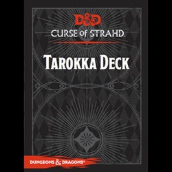 DnD Dungeons and  Dragons Tarokka Deck Curse of Strahd